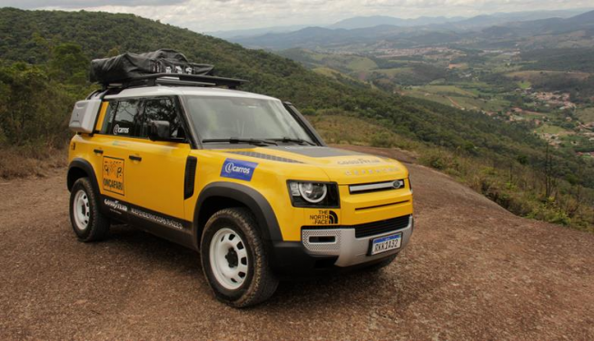 Land Rover participa do Rally dos Sertões para promover Onçafari