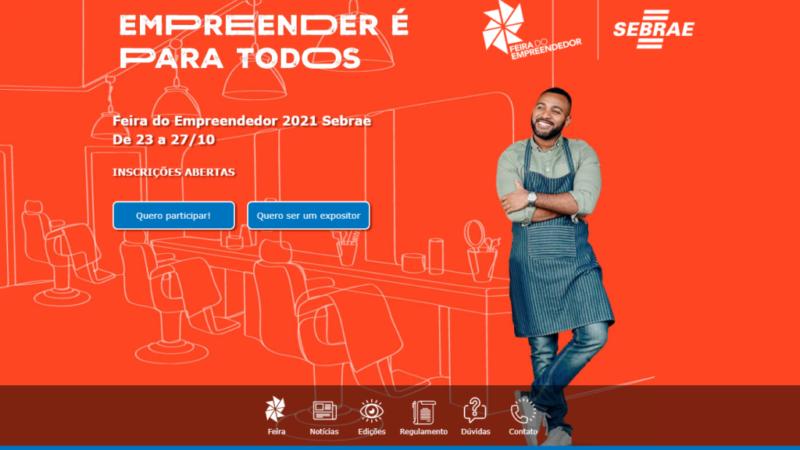 Edição 100% digital da Feira do Empreendedor começa neste sábado (23)