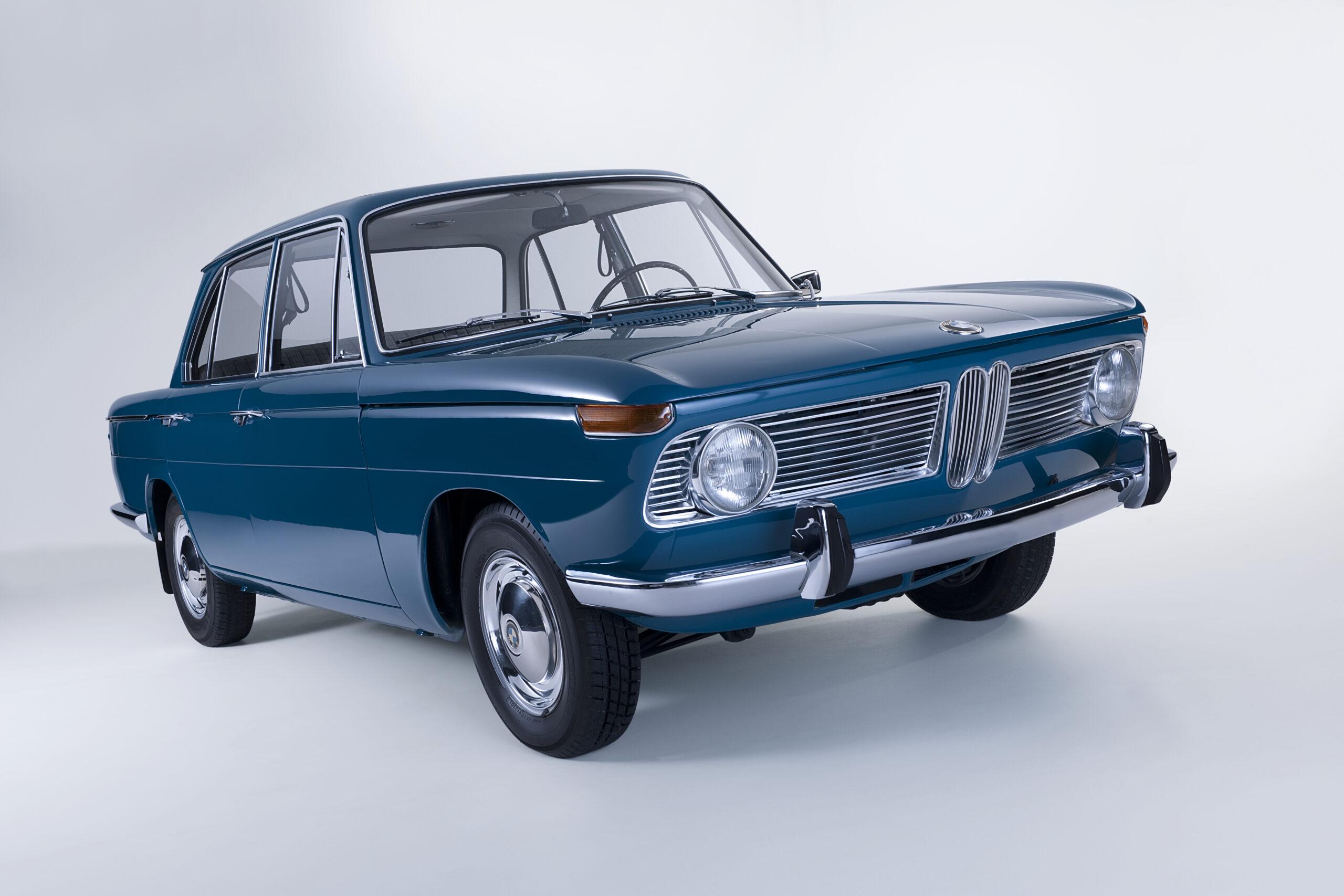 BMW New Class completa 60 anos como o primeiro sedã pequeno esportivo da marca