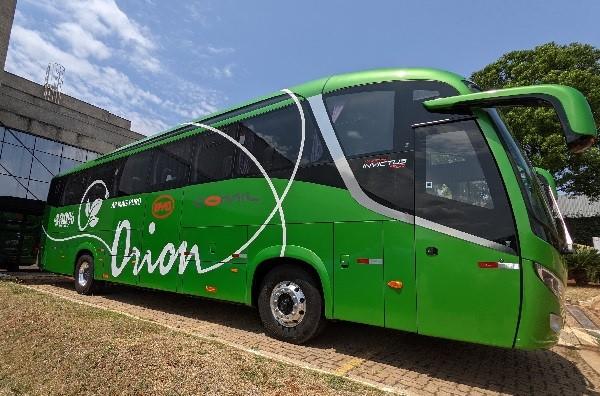 Orion Transportes acrescenta em sua frota ônibus de fretamento 100% elétrico BYD