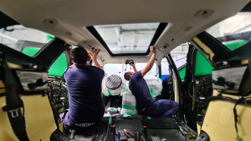 Donos de automóveis podem contar com blindagem mais leve
