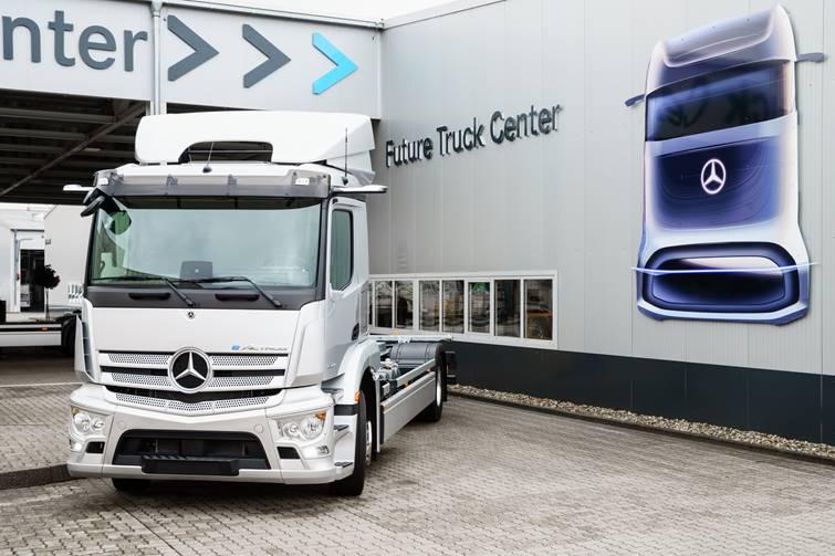 Produção em série do eActros tem início na fábrica da Mercedes-Benz em Wörth