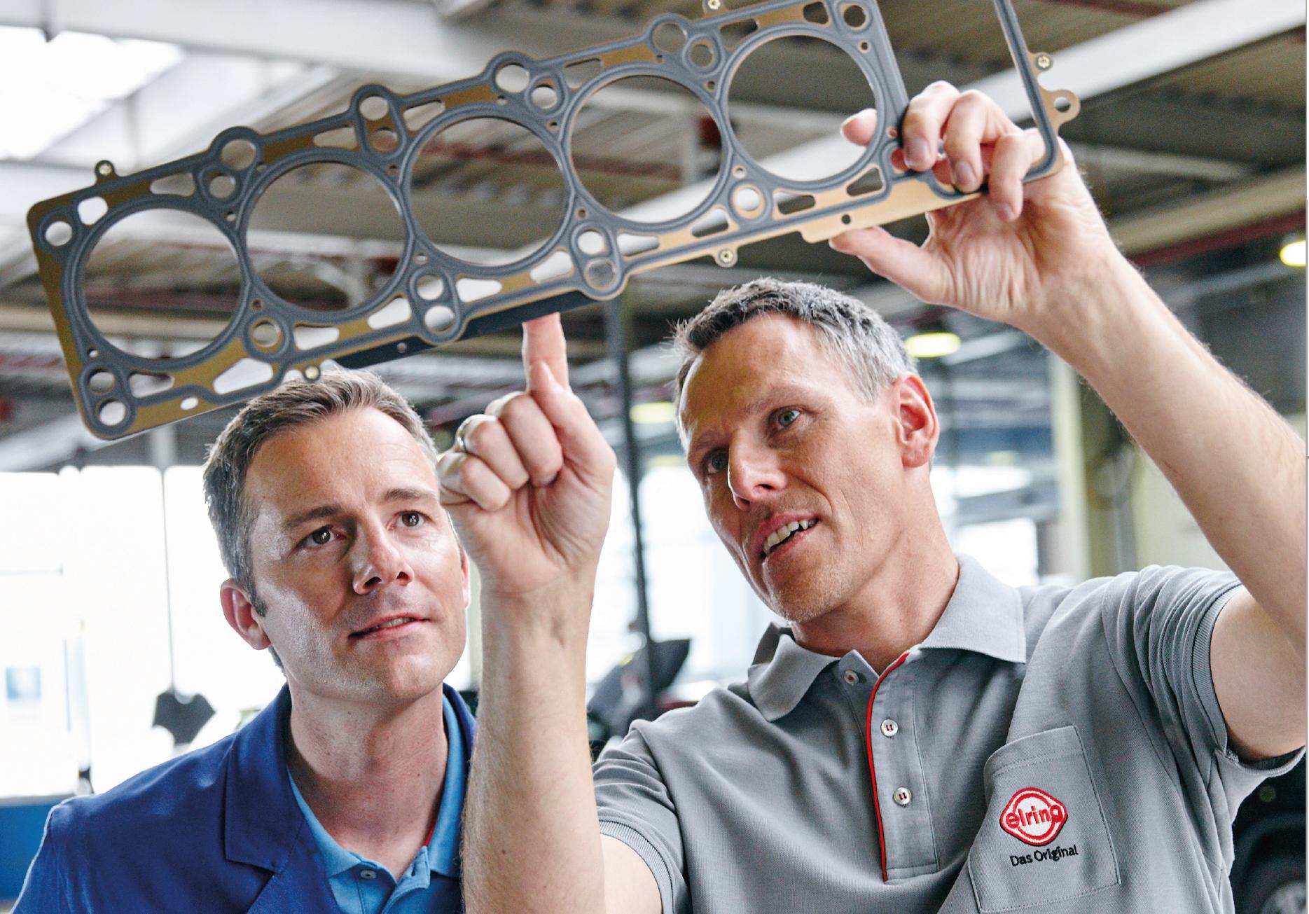 Portfólio Elring oferece completa gama de produtos para vedação automotiva