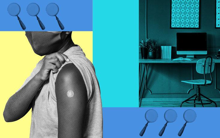 Levantamento aponta que empresas só devem retomar atividades presenciais com colaboradores vacinados