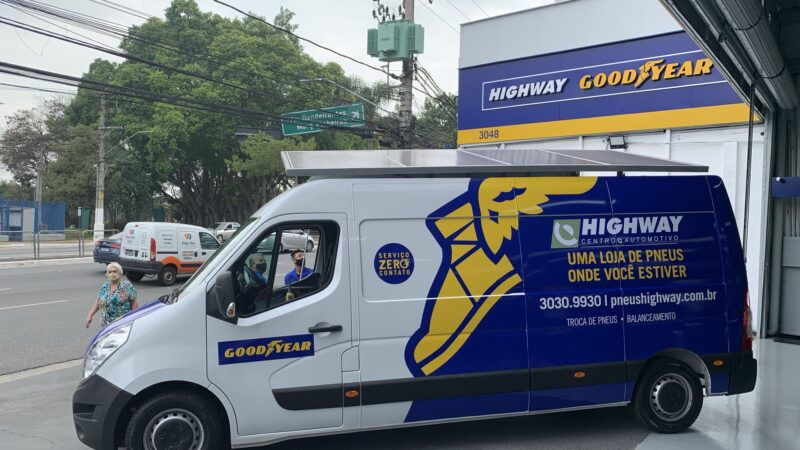 Goodyear lança serviço de unidade móvel