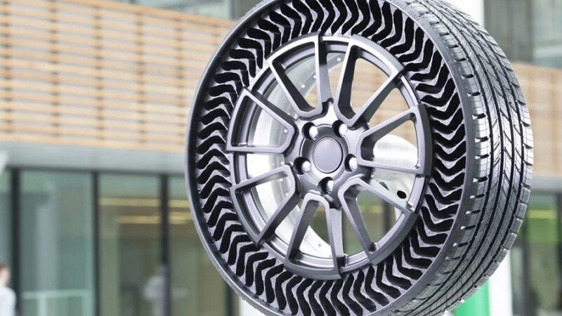 Sem furo: Michelin aprova tecnologia de pneus sem ar