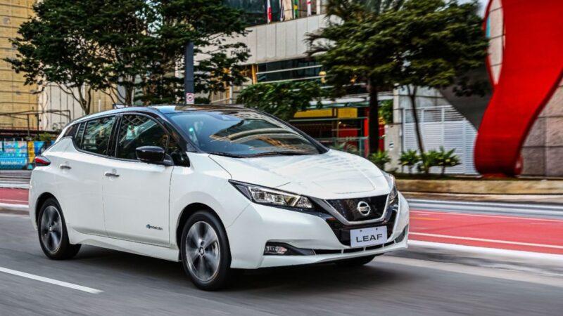 Movida inclui mais 150 Nissan Leaf em sua frota