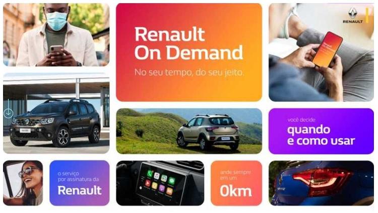 Renault on Demand lança plano de assinatura que permite mensalidades reduzidas e descontos