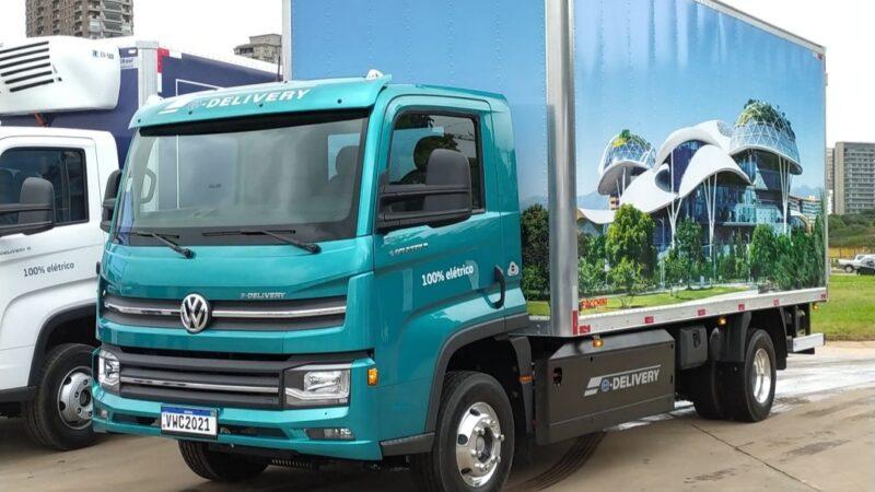 VW lança consórcio do e-Delivery e prevê 15% da frota com caminhões elétricos em 2030